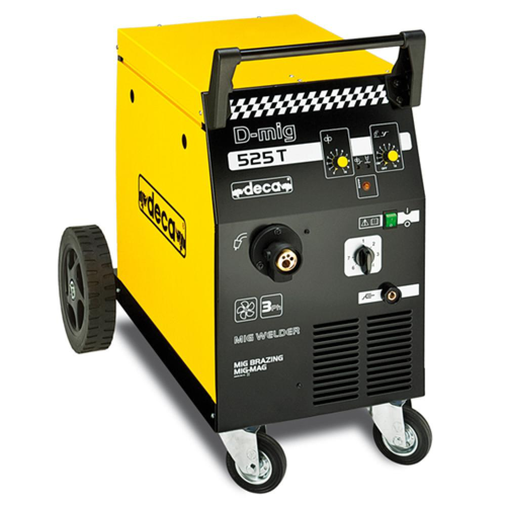 Сварочный полуавтомат для сварки и пайкиDecaD-MIG 525T