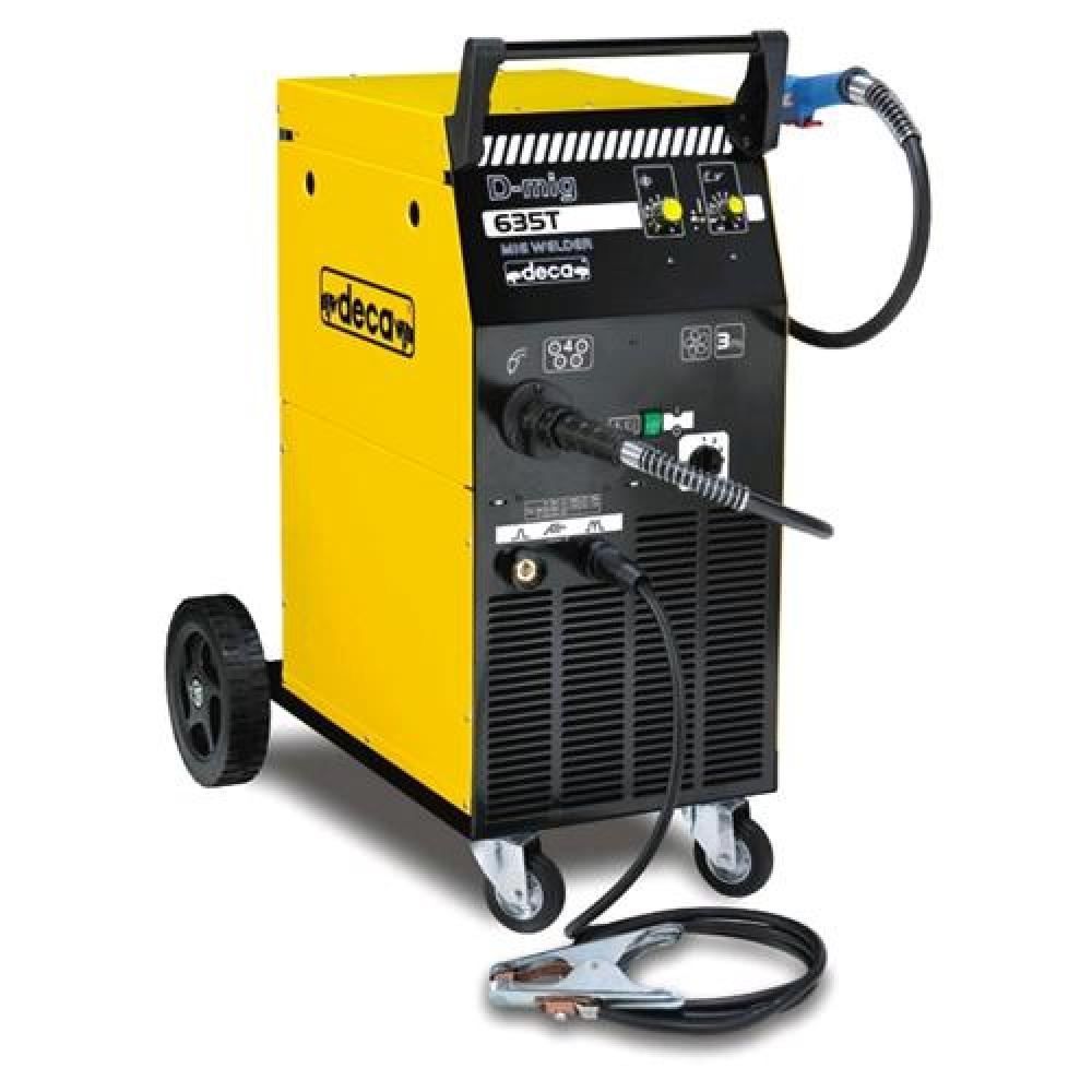 Промышленный сварочный полуавтоматDecaD-MIG 650 T