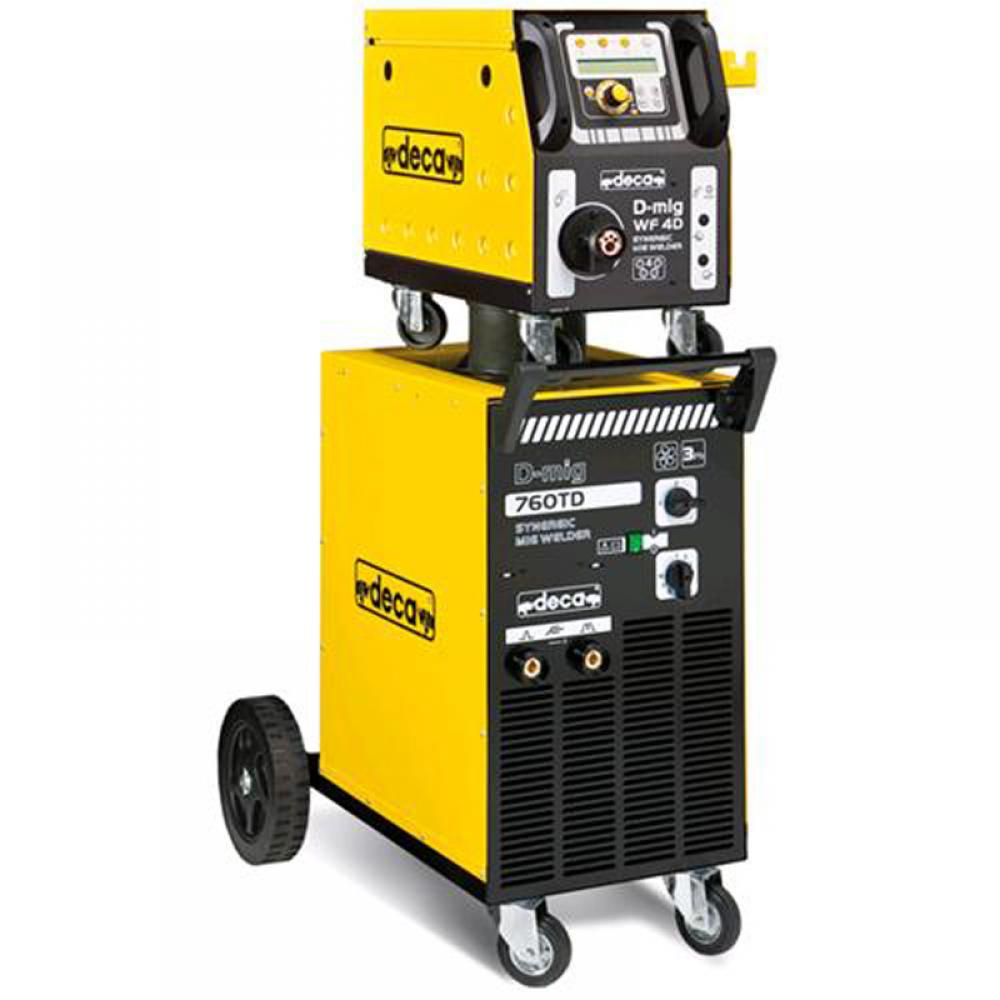 Промышленный сварочный полуавтоматDecaD-MIG 760 TD (комплект)