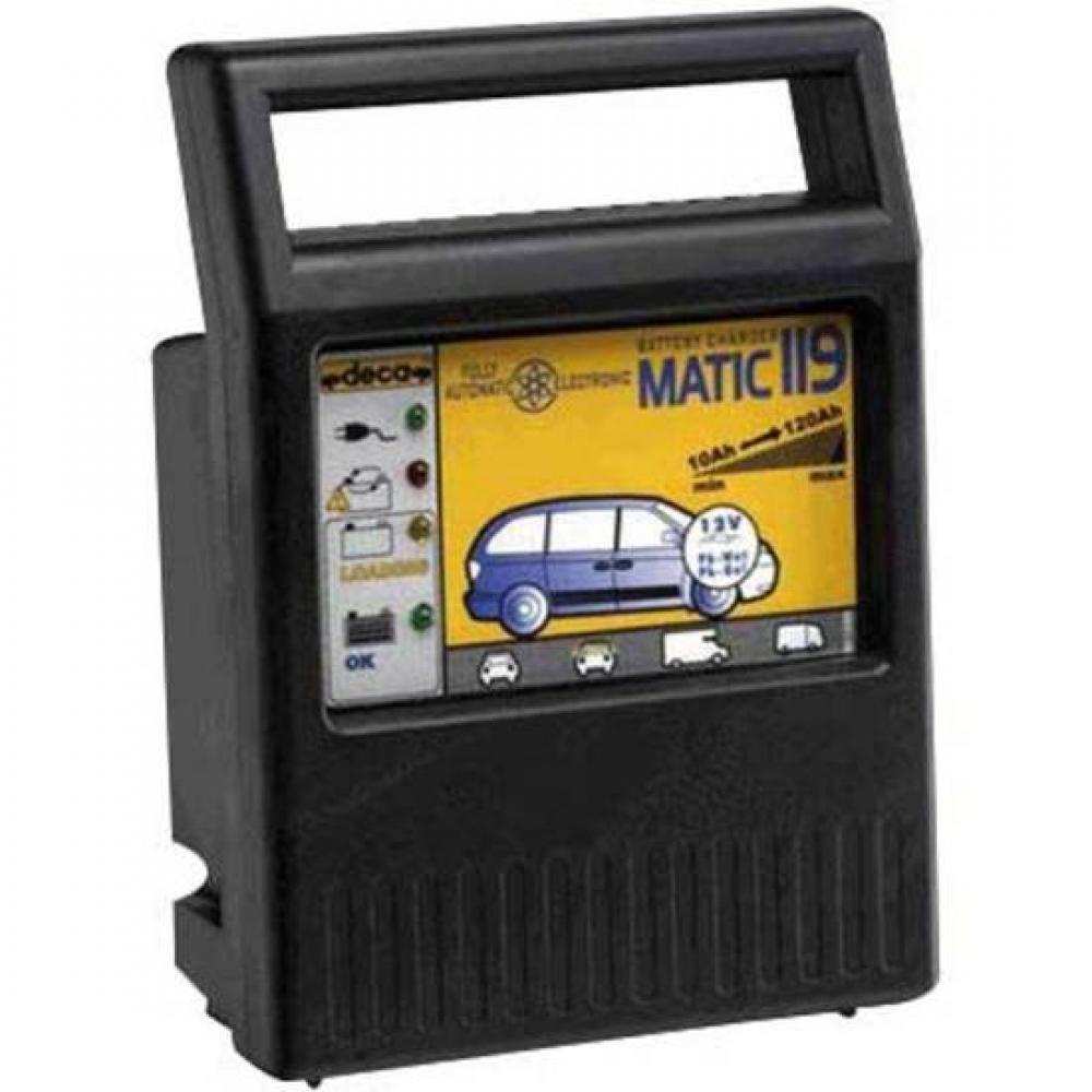 Автоматическое зарядное устройствоDecaMATIC 119