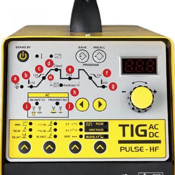 Сварочный инвертор аргонно-дуговой сваркиDecaTIG MASTROTIG 216 TIG AC/DC с горелкой 140 А – 4.0 - slide3