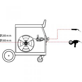 Сварочный полуавтомат для сварки и пайки с двумя паяльникамиDecaD-MIG 530 TDK - slide3