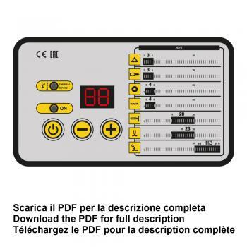 Аппарат односторонней контактной сваркиDecaSW 18 LAB - slide2